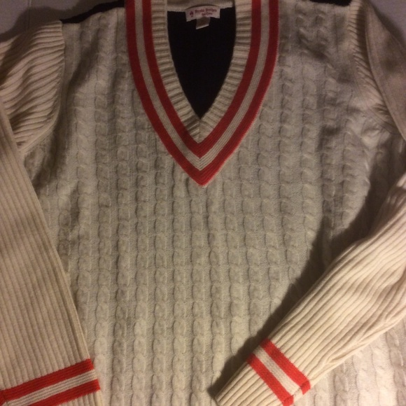 367e1215dc Brooks Brothers Sweaters - Brooks Brothers XL ColorBlock Beige & Navy Blue